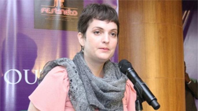 Crislayne Alfagali – Vencedora do prêmio internacional de investigação histórica Agostinho Neto